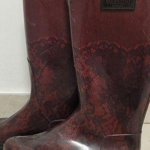 VALENTINO Rain Boots from Italy!
